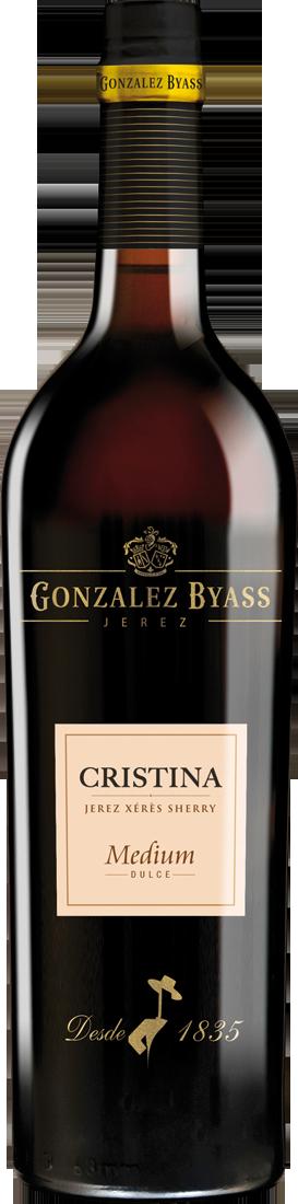 Weißwein González Byass Cristina Sherry Medium 17,5% vol. Jerez 16,25? pro l