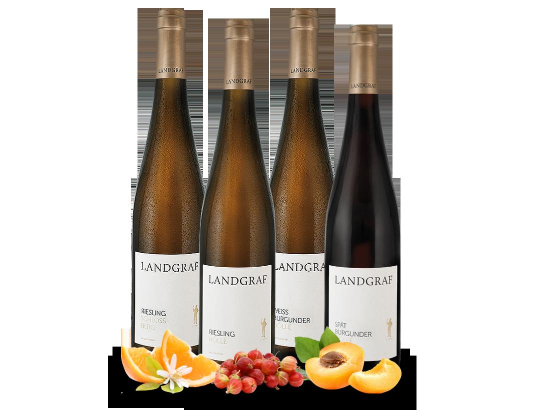 Kennenlernpaket Lagenweine vom Weingut Landgraf...