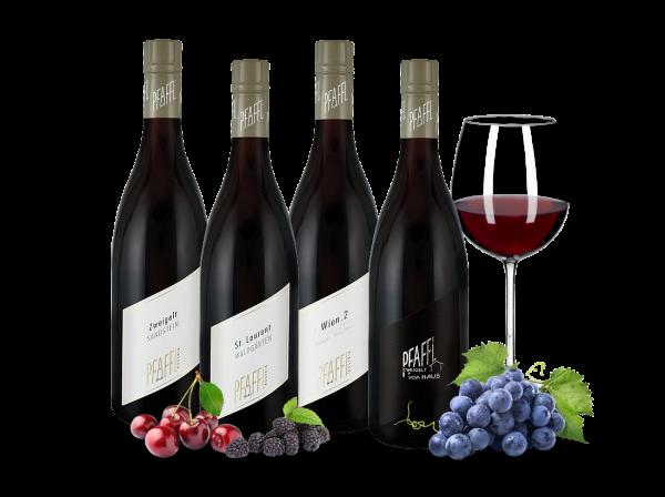 Kennenlernpaket Rotweine vom Weingut Pfaffl