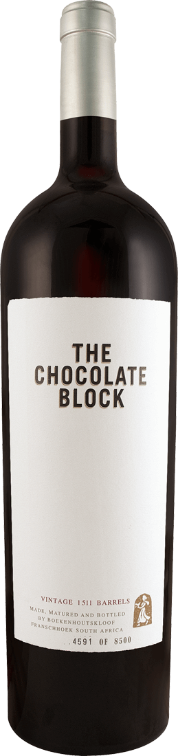 Rotwein Boekenhoutskloof The Chocolate Block Magnum 1,5l Western Cape 46,60€ pro l