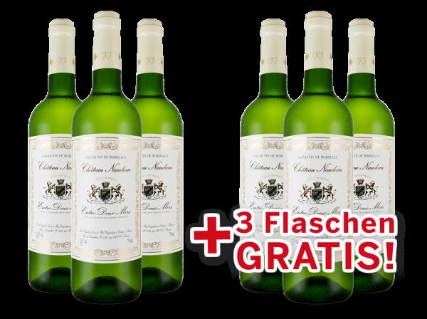 Vorteilspaket 6 für 3 Schröder & Schÿler Château Naudeau Blanc Entre-deux-Mers