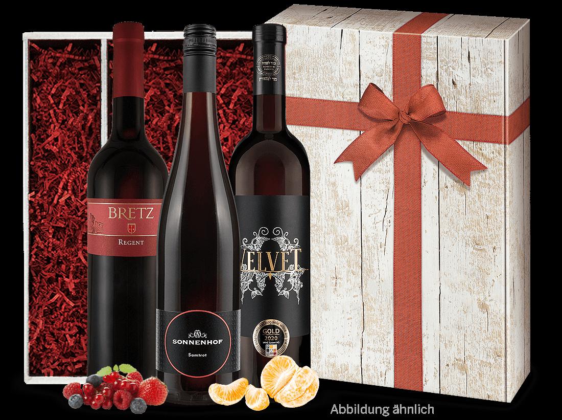 Rotwein Rotwein-Geschenk Liebliches & Süßes Vergnügen13,29? pro l