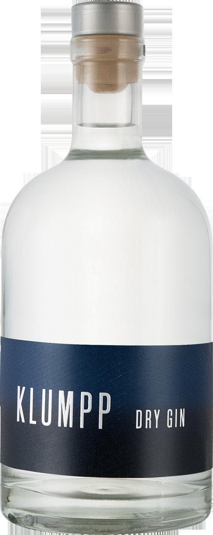 Klumpp Dry Gin 44% vol. 0,5l Baden 65,80? pro l