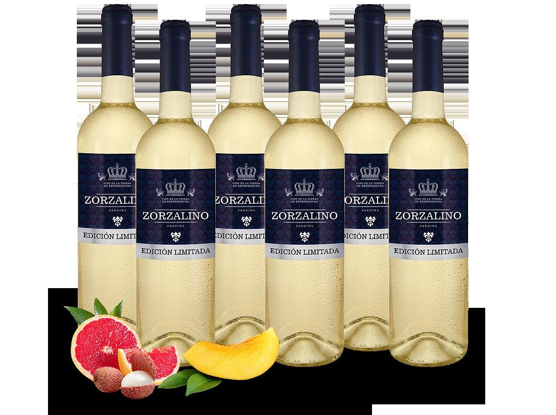 Probierpaket 6 Flaschen Viñaoliva Pardina Zorzalino Bianco6,66? pro l