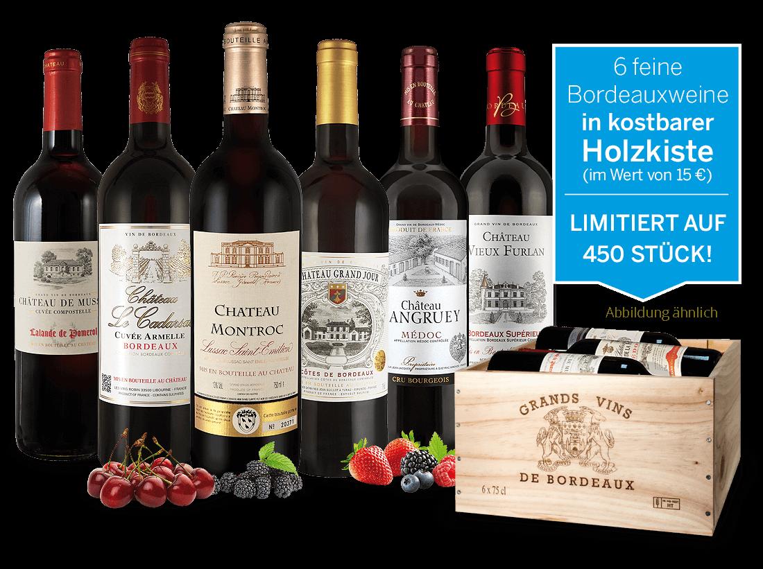 Bordeaux-Schatzkiste15,55? pro l