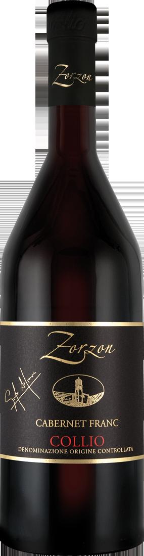 Cantina Zorzon Rotwein Cabernet Franc Collio DOC Friaul 14,53€ pro l