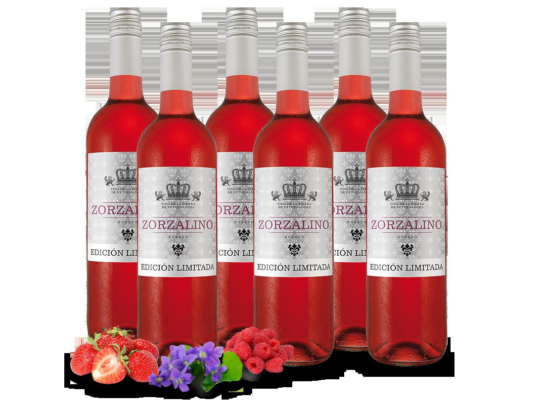 Probierpaket 6 Flaschen Viñaoliva Syrah Zorzalino Rosado6,66? pro l