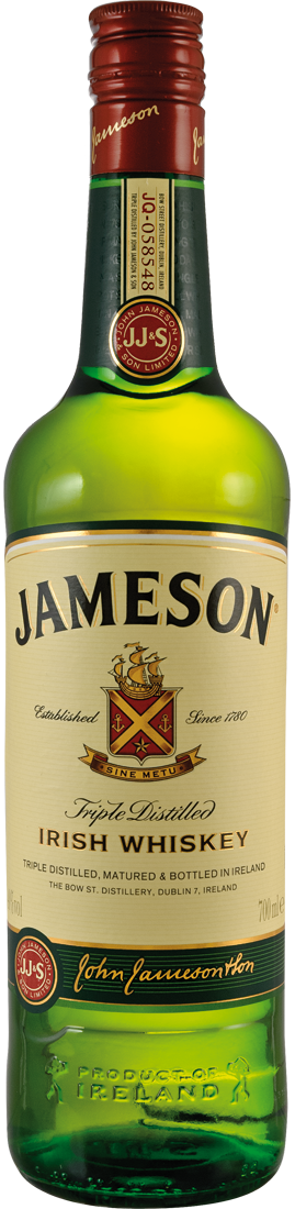 John Jameson Irish Whiskey 40% vol.28,43€ pro l