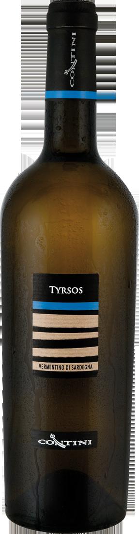 Weißwein Contini Tyrsos Vermentino di Sardegna DOC Sardinien 11,32€ pro l