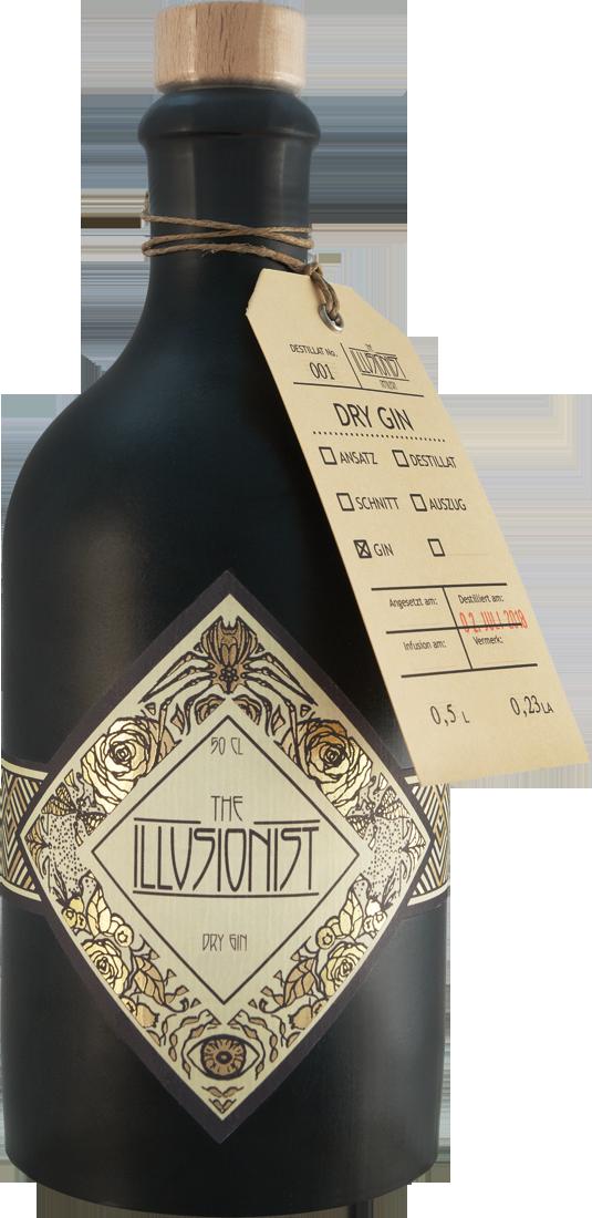 The Illusionist Dry Gin 45% vol. 0,5l Bayern 79,80€ pro l