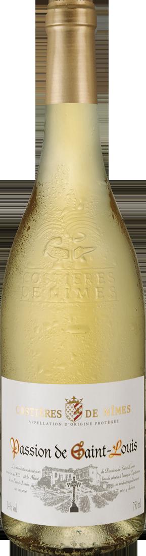 Weißwein Joseph Castan Costières de Nîmes Passion de Saint-Louis Blanc AOP Rhône 6,65? pro l