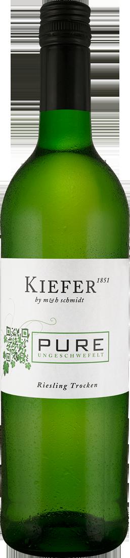 Weißwein Kiefer PURE Riesling ungeschwefelt Baden 10,12€ pro l