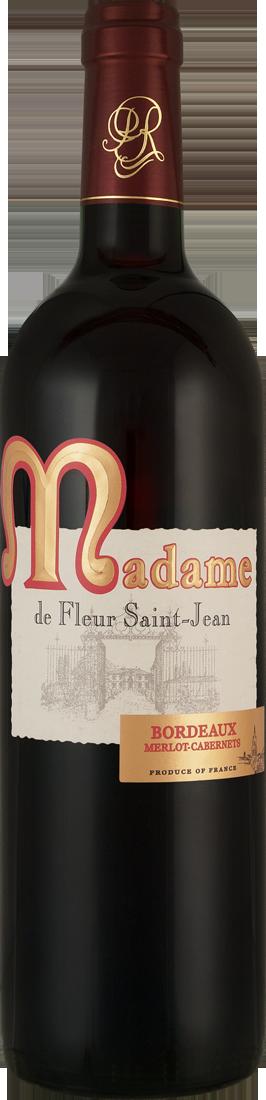 Rotwein Maison Rivière Madame de Fleur Saint-Jean Bordeaux AOP Bordeaux 13,32? pro l