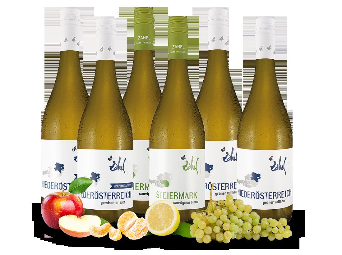 Probierpaket Weißweine vom Weingut Zahel mit 6 Flaschen9,98? pro l