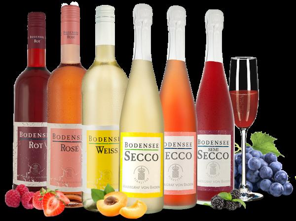 Kennenlernpaket 'Bodensee' vom Weingut Markgraf von Baden
