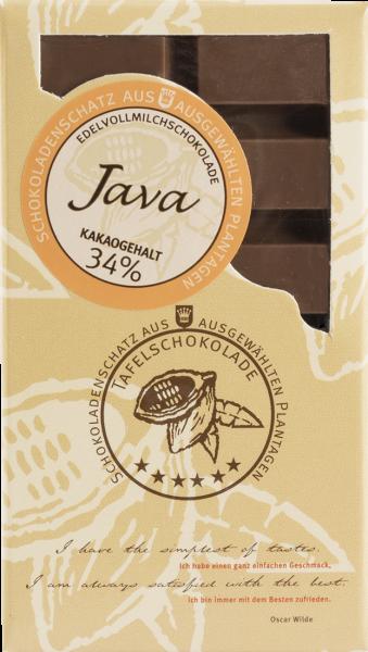 DreiMeister Ursprungsschokolade Java 50 g
