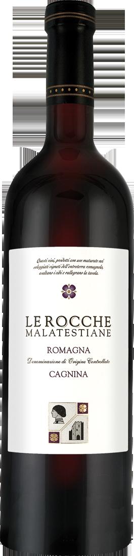Rotwein Le Rocche Malatestiane Cagnina di Romagna Dolce DOC Emilia-Romagna 6,92€ pro l
