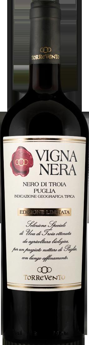 Rotwein Torrevento Nero di Troia VIGNA NERA Edizione Limitada IGT Apulien 9,99? pro l