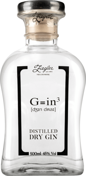 Ziegler Gin G=in 3 45% vol.