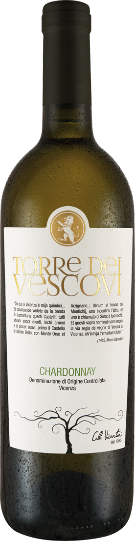 Groß Luja Angebote Weißwein Cantina Colli Vicentini Chardonnay Torre dei Vescovi Vicenza DOC Venetien 7,99€ pro l