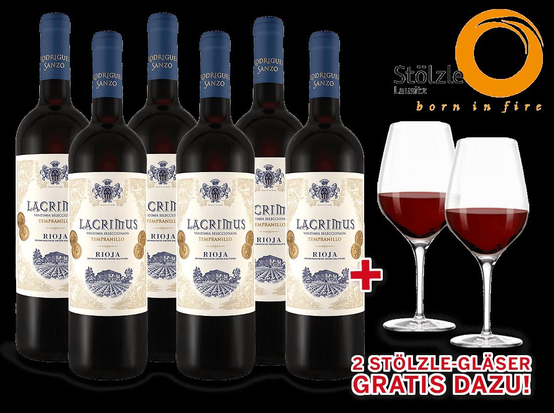 Probierpaket 6 Fl. Javier Rodriguez Rioja Lacrimus8,89€ pro l