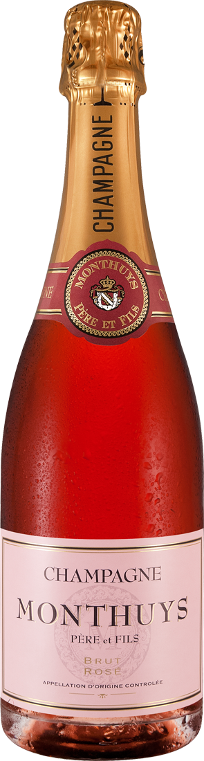 Roséwein Monthuys Champagner Rosé Champagne 33,20€ pro l
