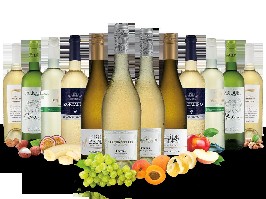 Best of Weißwein Entdeckerpaket8,33? pro l