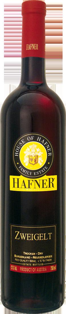 Rotwein Hafner Zweigelt Classic Burgenland, Neusiedlersee 8,67? pro l