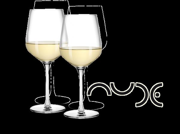 NUDE Weißwein-Gläser Refine 2er Set