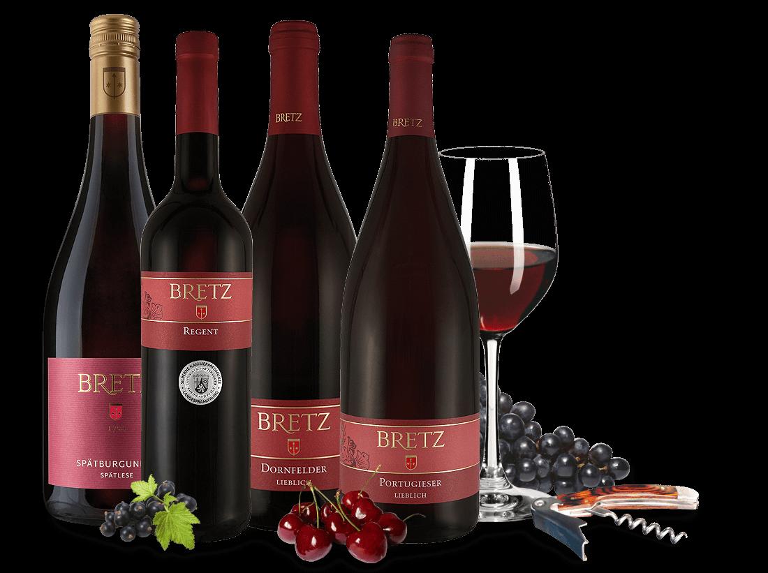 Ernst Bretz Rotwein-Probierpaket süß9,23€ pro l