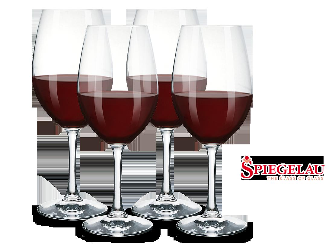 Spiegelau Rotwein-Gläser 4er Set von