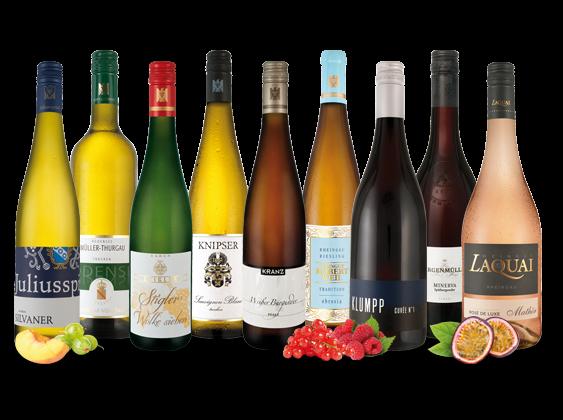 Vorteilspaket Deutschlands feine Weine