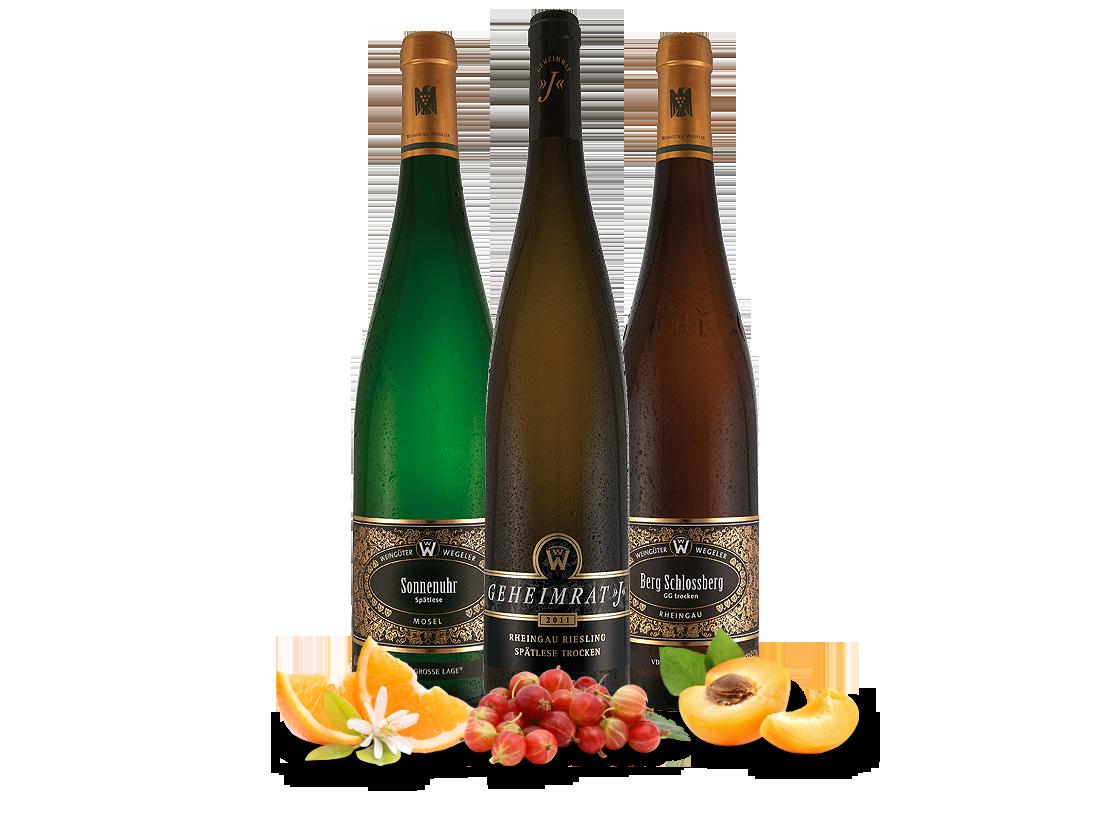 Kennenlernpaket Weingut Wegeler 3 Flaschen Große Lagen26,62€ pro l jetztbilligerkaufen