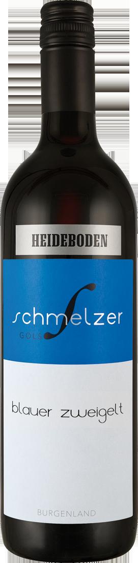 Rotwein Schmelzer Blauer Zweigelt Heideboden Neusiedlersee 11,87? pro l