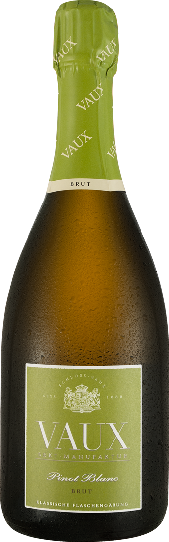 Weißwein Schloss Vaux Pinot Blanc Sekt Brut Rheingau 20,67? pro l