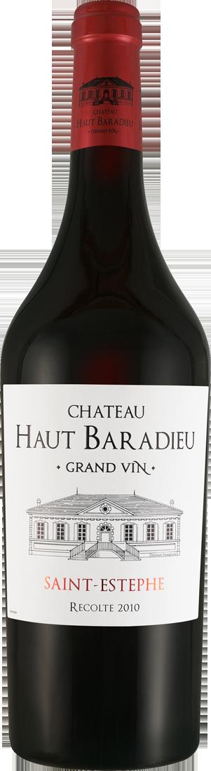 Rotwein Château Haut Baradieu Grand Vin Saint-Estèphe AOC Saint-Estèphe 38,67? pro l