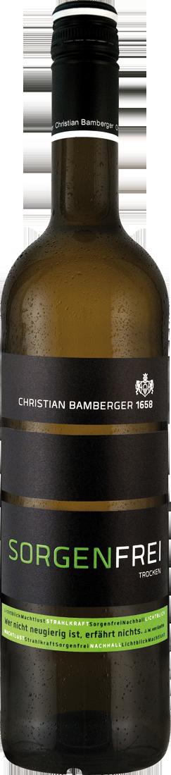 Weißwein Christian Bamberger Cuvée Sorgenfrei N...
