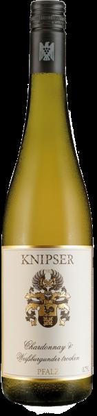 Knipser Chardonnay & Weißburgunder QbA