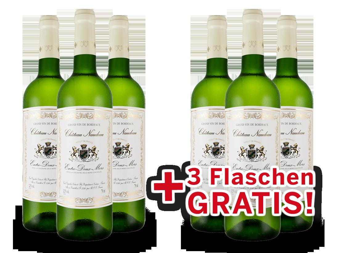 Vorteilspaket 6 für 3 Schröder & Schÿler Château Naudeau Blanc8,89? pro l