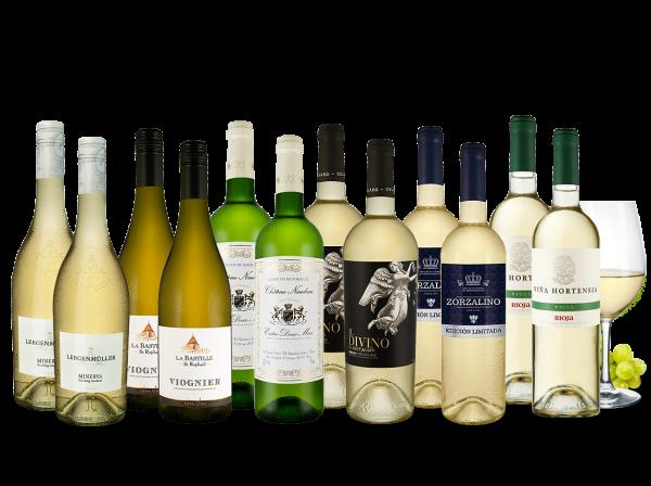 Weißwein Topseller des Jahres Probierpaket