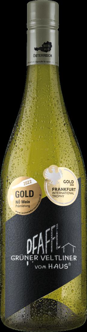 Weißwein Pfaffl Grüner Veltliner VOM HAUS Niederösterreich 9,32? pro l