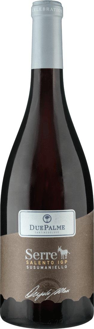 Rotwein Cantine Due Palme Serre Susumaniello Salento IGP Apulien 13,20? pro l