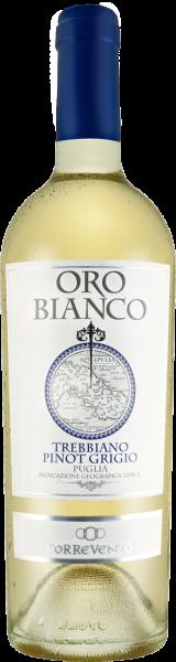 Torrevento Trebbiano-Pinot Grigio Oro Bianco Puglia IGT