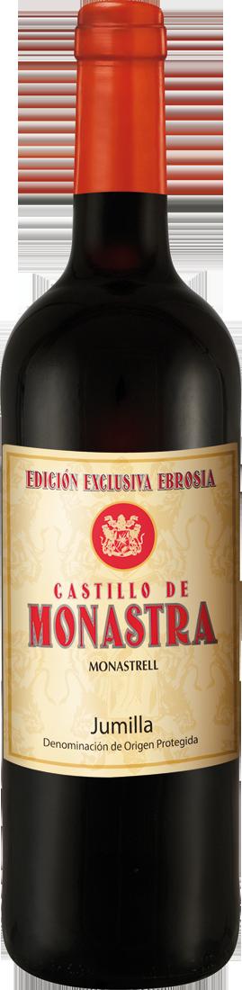 Rotwein Castillo de Monastra Monastrell Edición Exclusiva D.O. Jumilla 7,32€ pro l