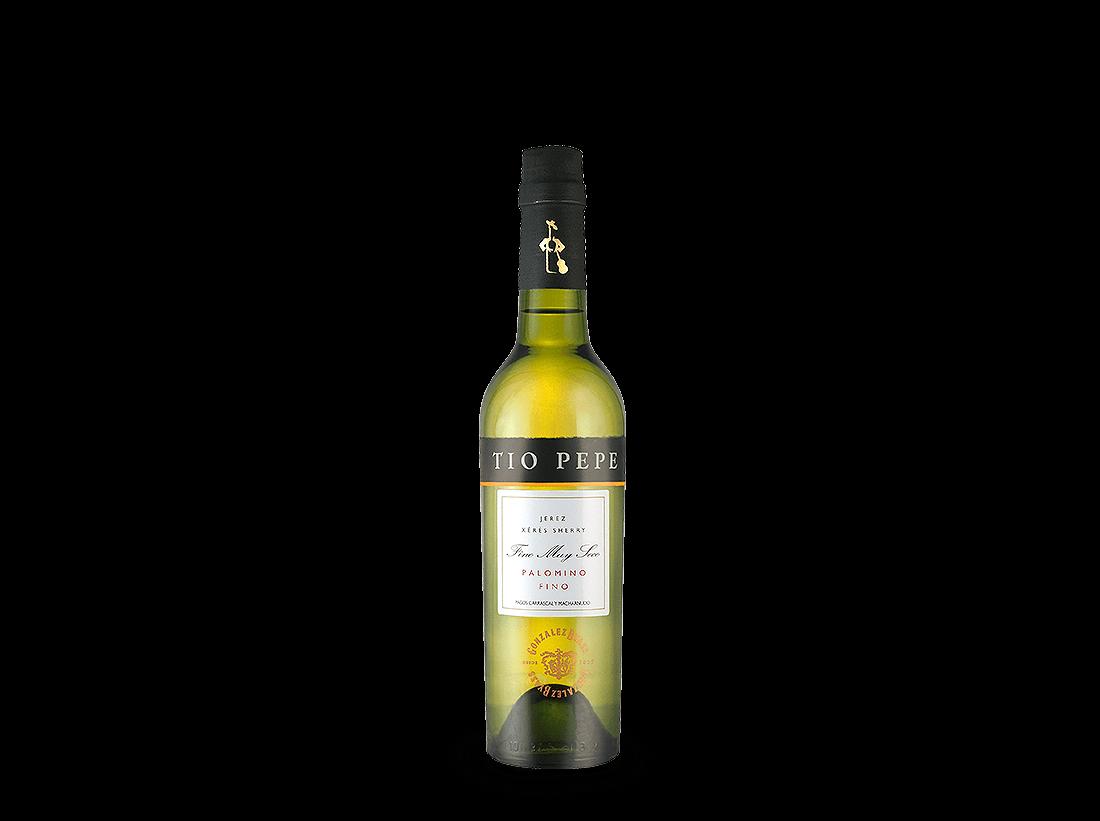 Weißwein Tio Pepe Sherry Palomino Fino 0,375l 15% vol. González Byass Jerez 15,44€ pro l