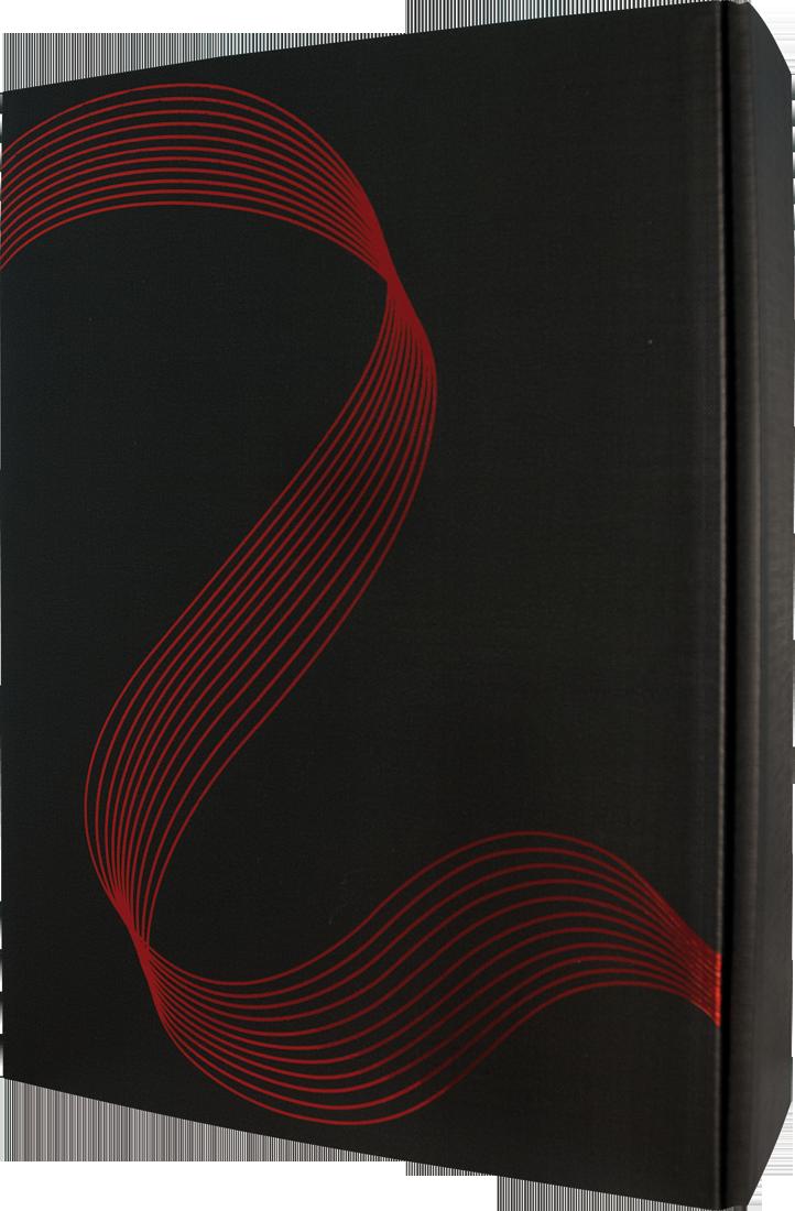 Präsentkarton Contura Swing schwarz für 3 Flaschen