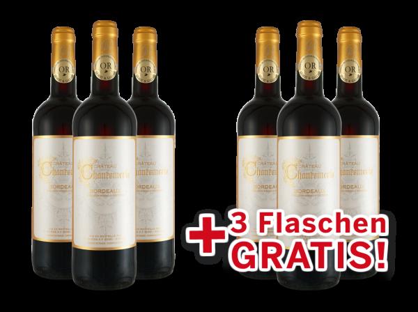 Vorteilspaket 6 für 3 Château Chantemerle Bordeaux