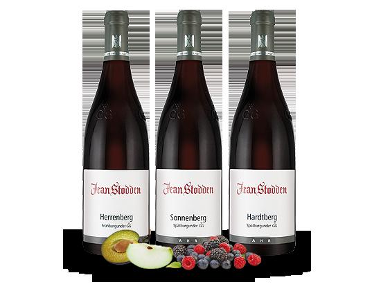 Kennenlernpaket 3 Fl. Burgunder Große Gewächse vom Rotweingut Jean Stodden61,78? pro l