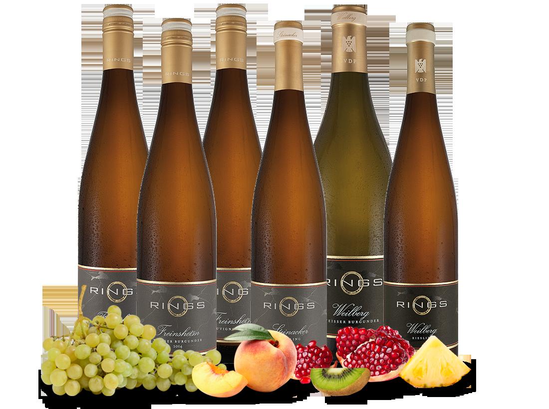 Kennenlernpaket feinste Ringsweine aus der Pfalz24,22€ pro l jetztbilligerkaufen