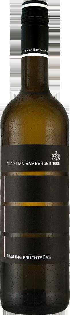 Weißwein Christian Bamberger Riesling fruchtsüß...